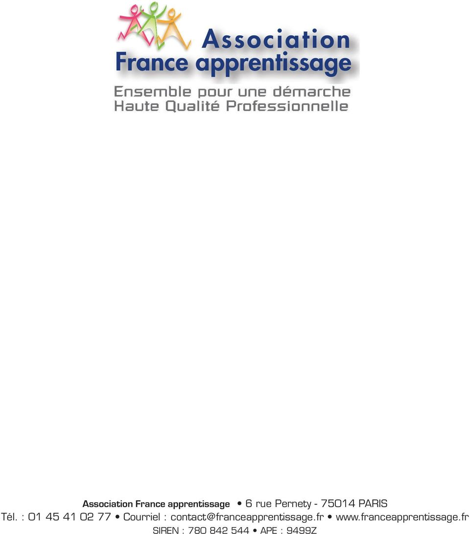 contact@franceapprentissage.fr www.