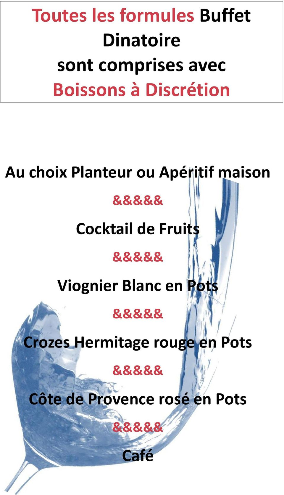 Apéritif maison Cocktail de Fruits Viognier Blanc en