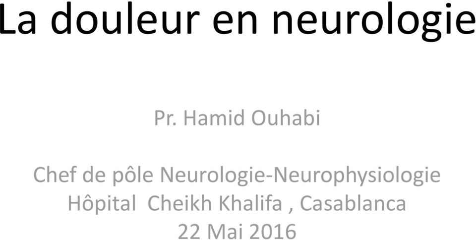 Neurologie-Neurophysiologie