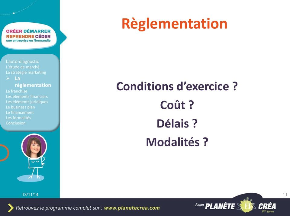 Conditions d exercice?