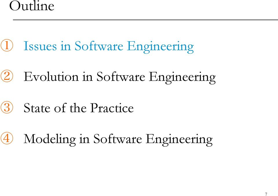 Software Engineering State of