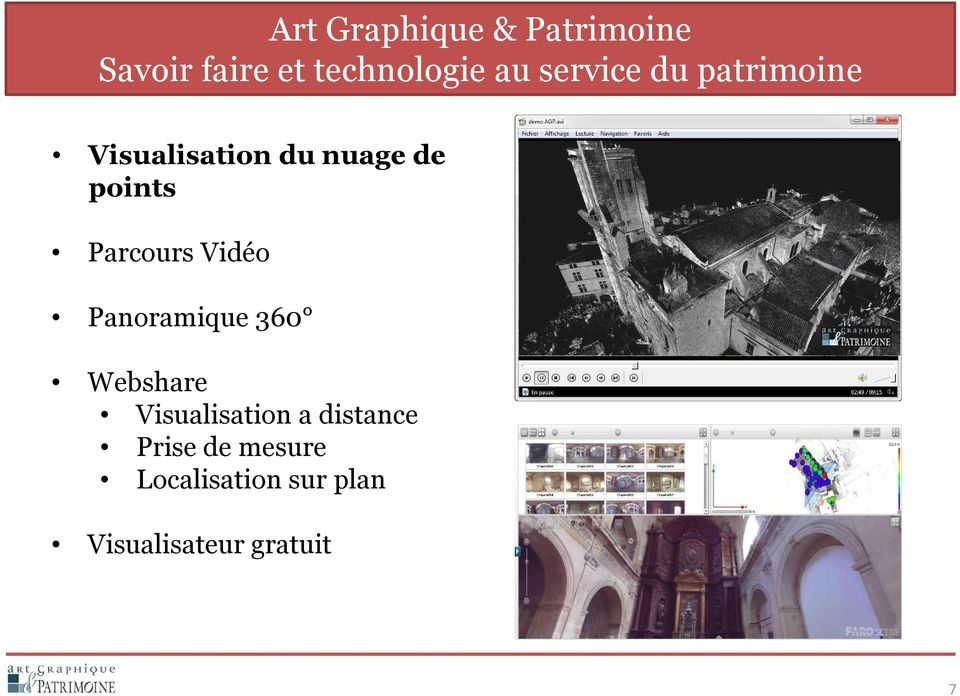 Visualisation a distance Prise de