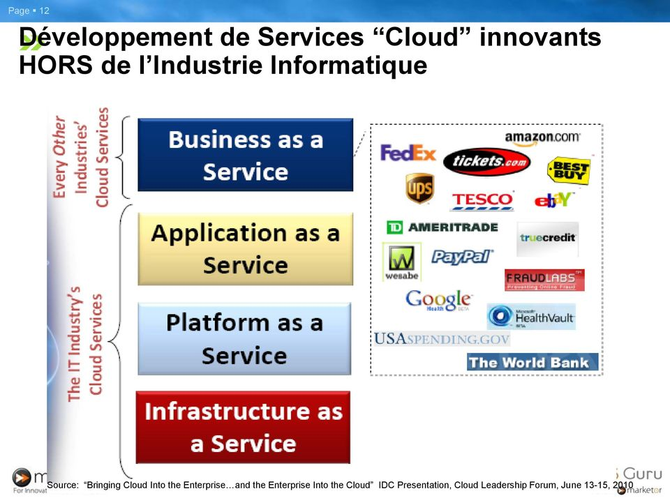 Into the Enterprise and the Enterprise Into the Cloud
