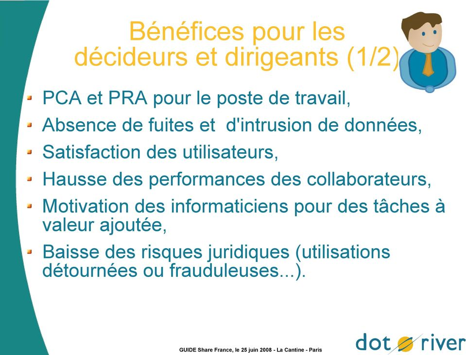 performances des collaborateurs, Motivation des informaticiens pour des tâches à