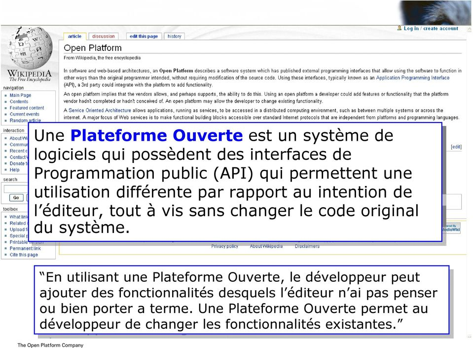 de without l éditeur, modification tout à vis sans to to the changer source le le code original du système.