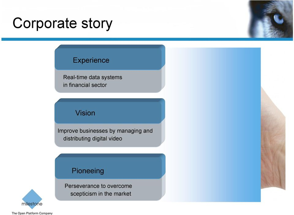managing and distributing digital video Pioneeing
