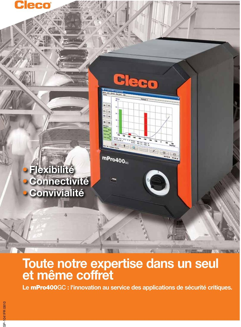 Le mpro400gc : l'innovation au service des