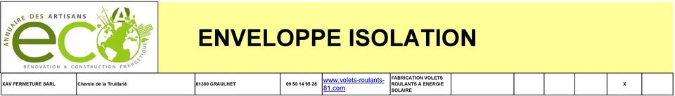 50 14 95 28 www.volets-roulants- 81.
