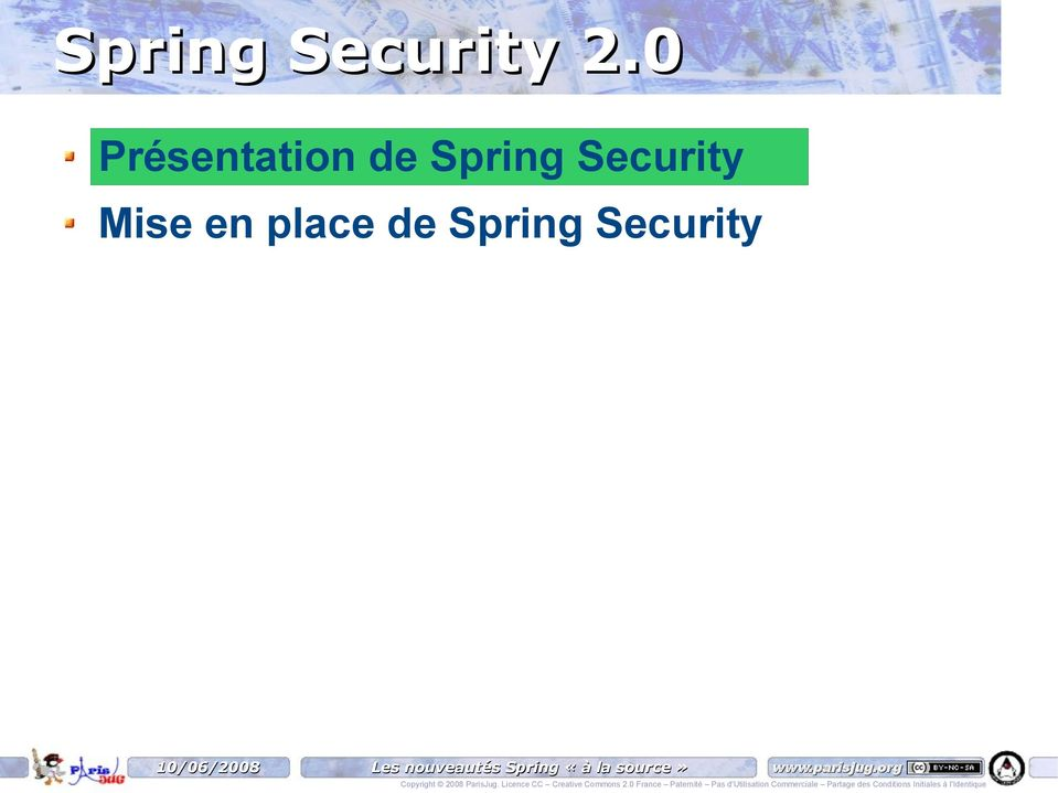 Spring Security Mise