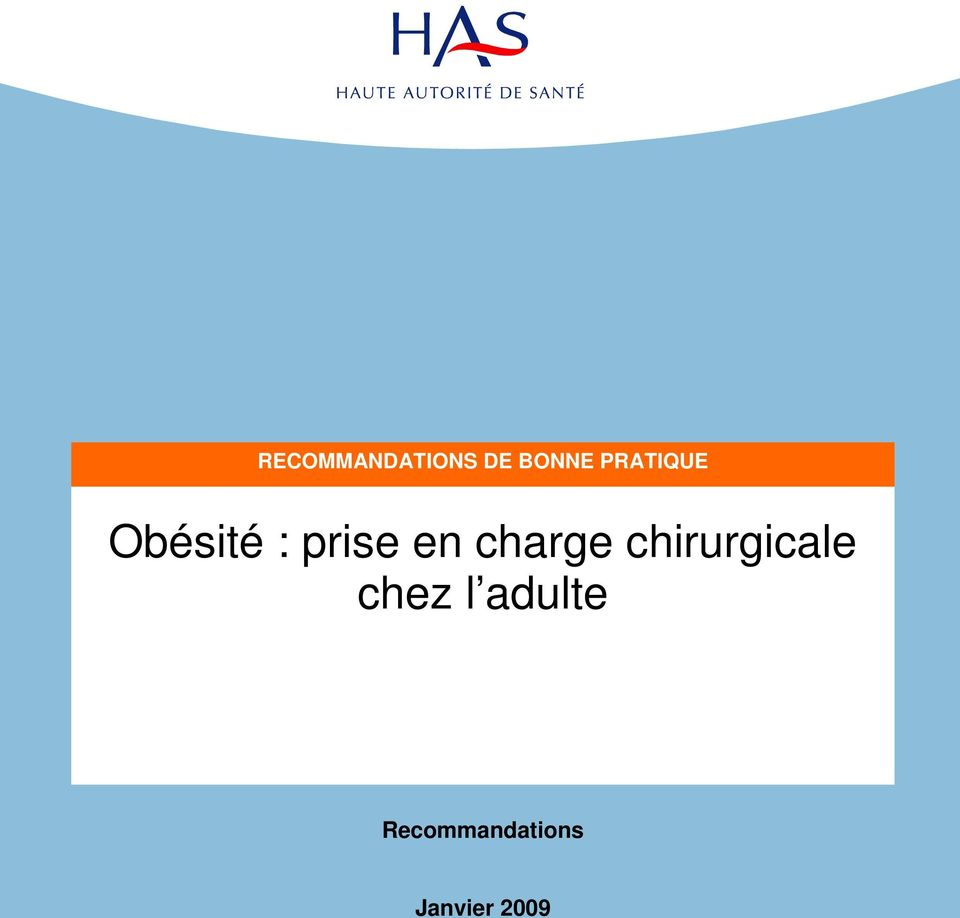 charge chirurgicale chez l