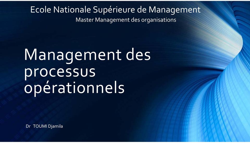 organisations Management des