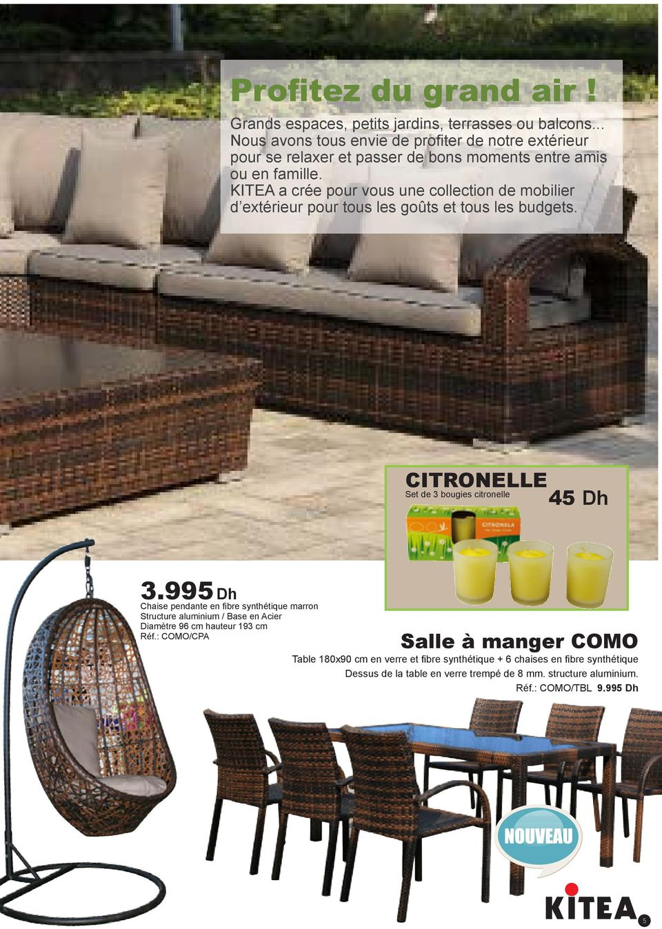 Collection pdf for Salle a manger kitea geant