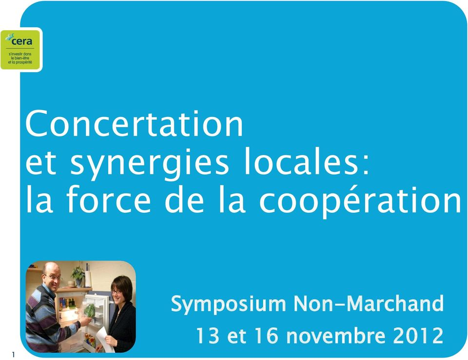 coopération 1 Symposium