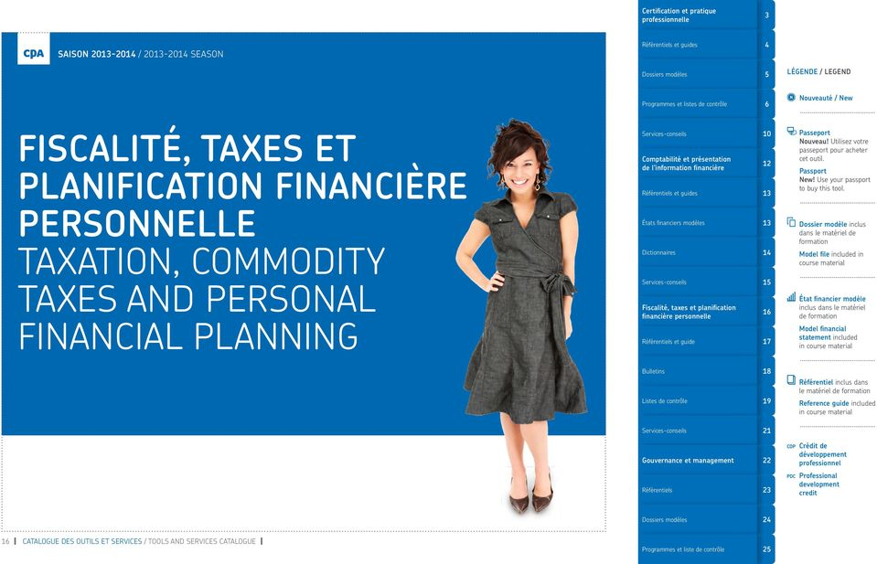 taxes and personal financial planning et guide 1 1 1 le