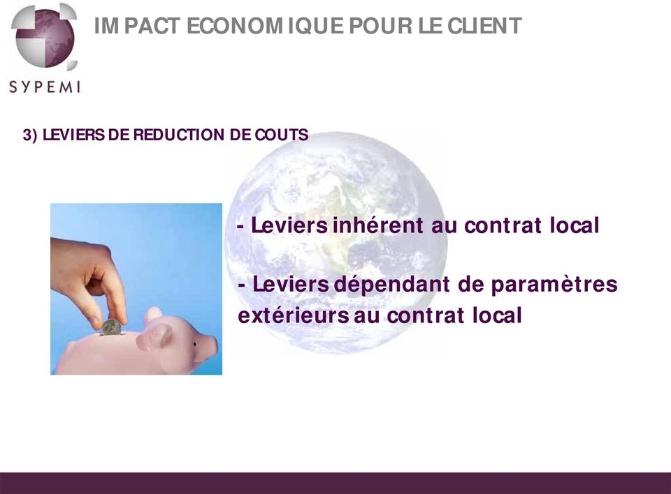 inhérent au contrat local - Leviers