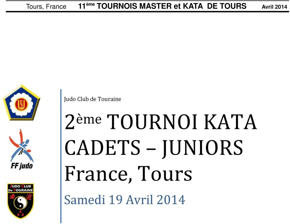 CADETS JUNIORS France,