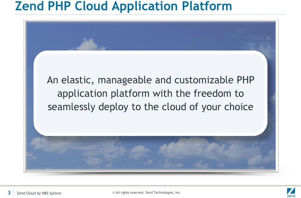 platform with the freedom to seamlessly deploy