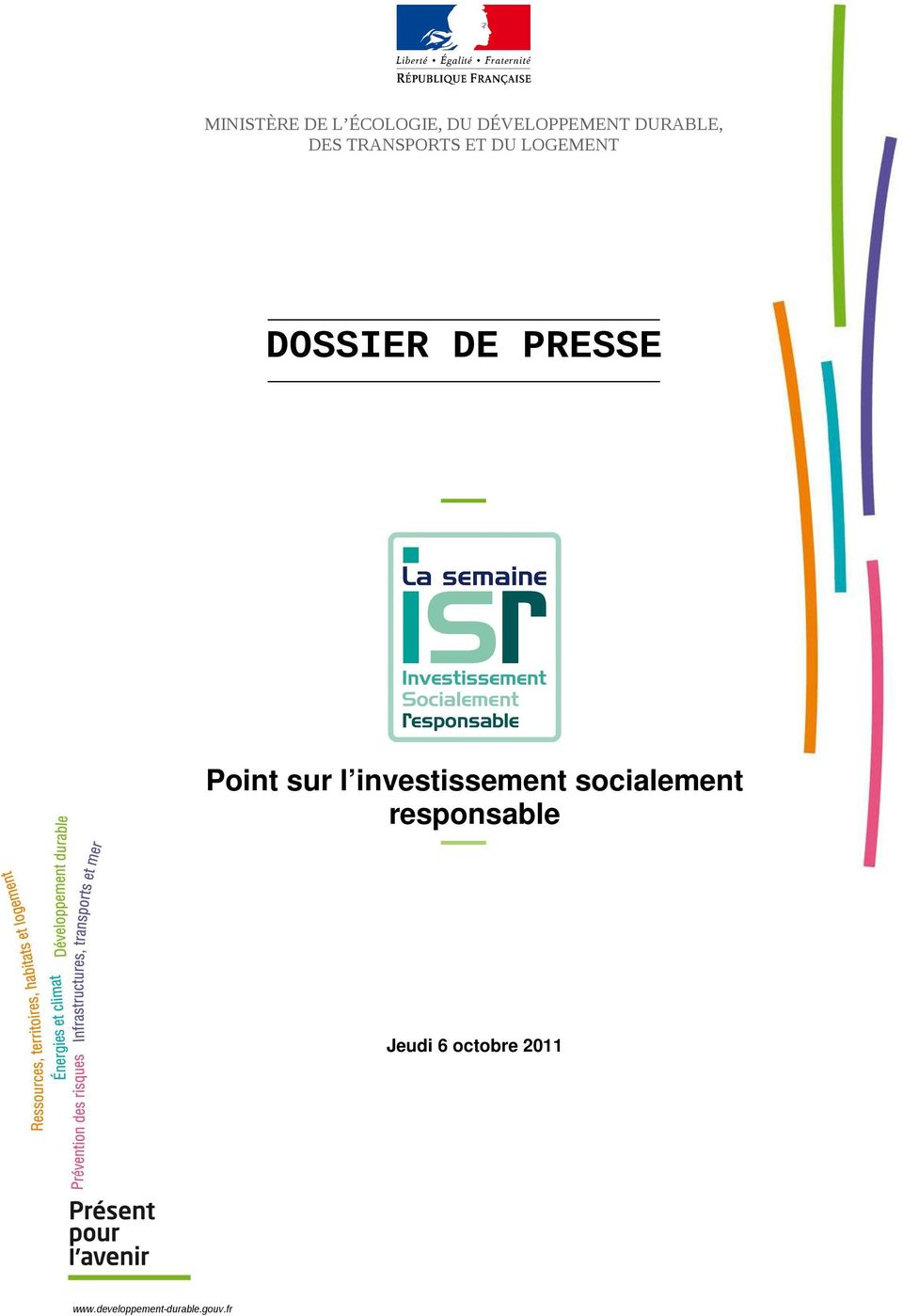 Point sur l investissement socialement responsable