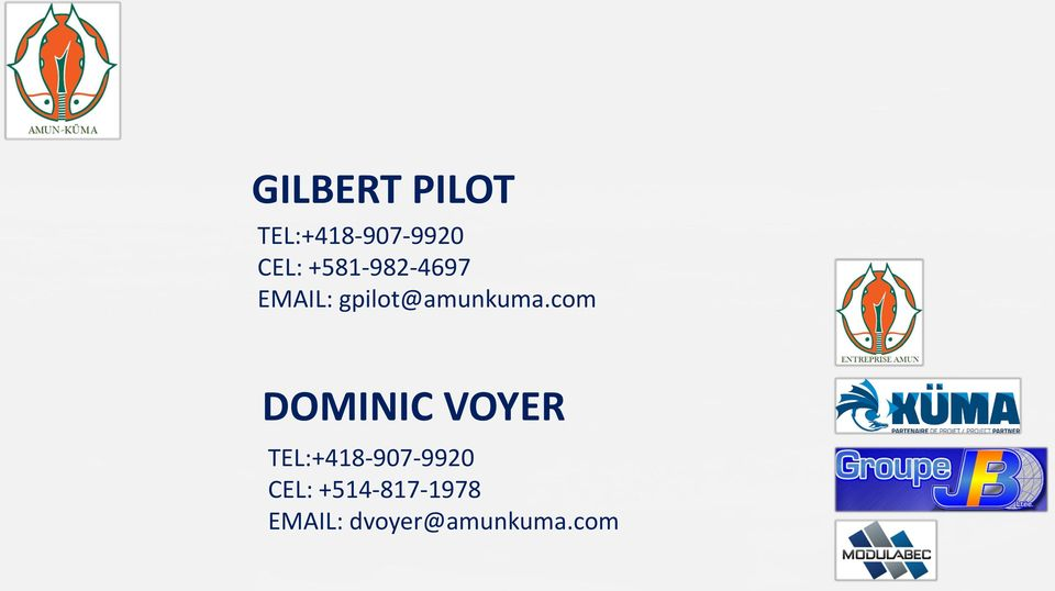 com DOMINIC VOYER TEL:+418-907-9920