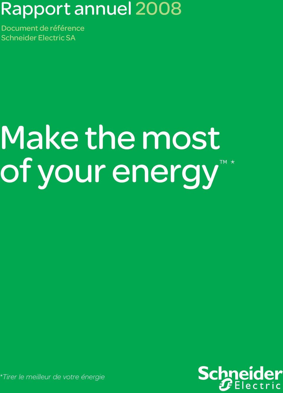 Make the most of your energy *