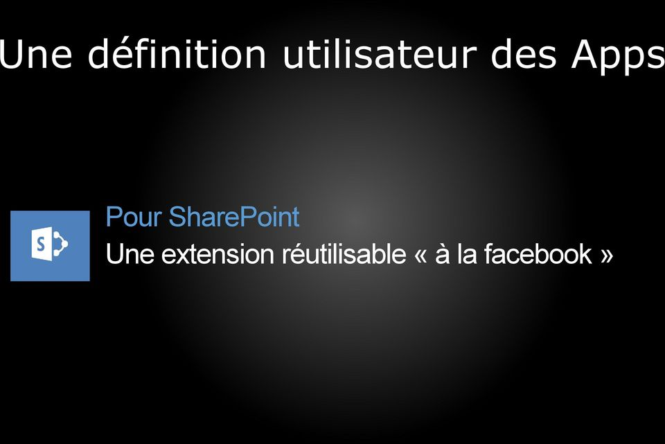 Pour SharePoint Une