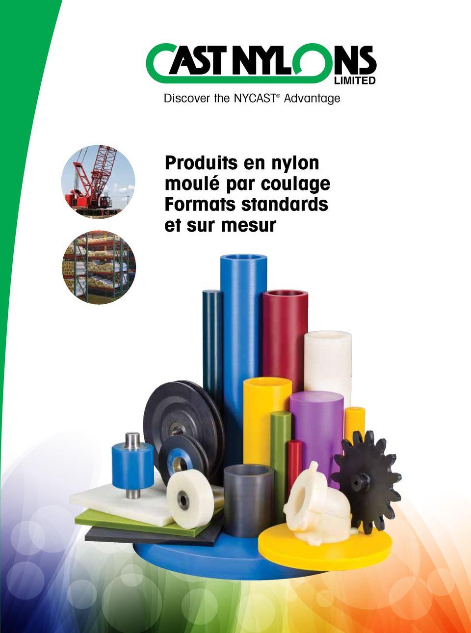 nylon moulé par coulage