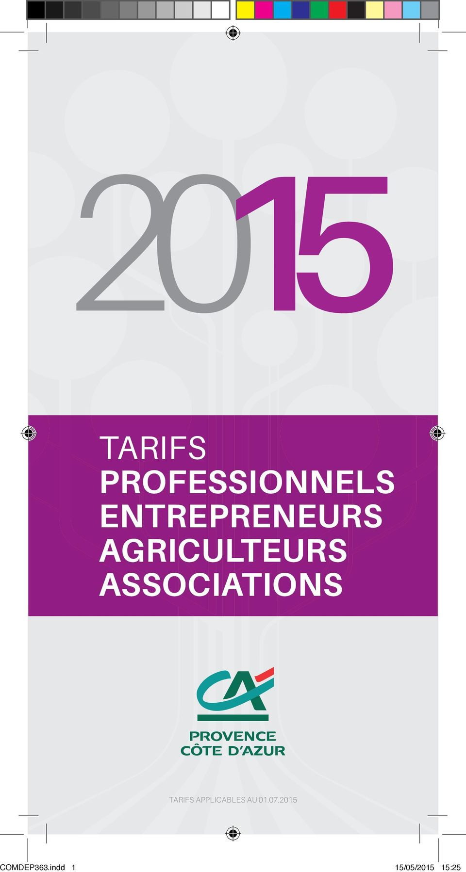 ASSOCIATIONS TARIFS APPLICABLES