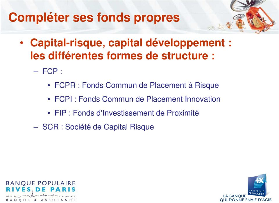Placement à Risque FCPI : Fonds Commun de Placement Innovation FIP