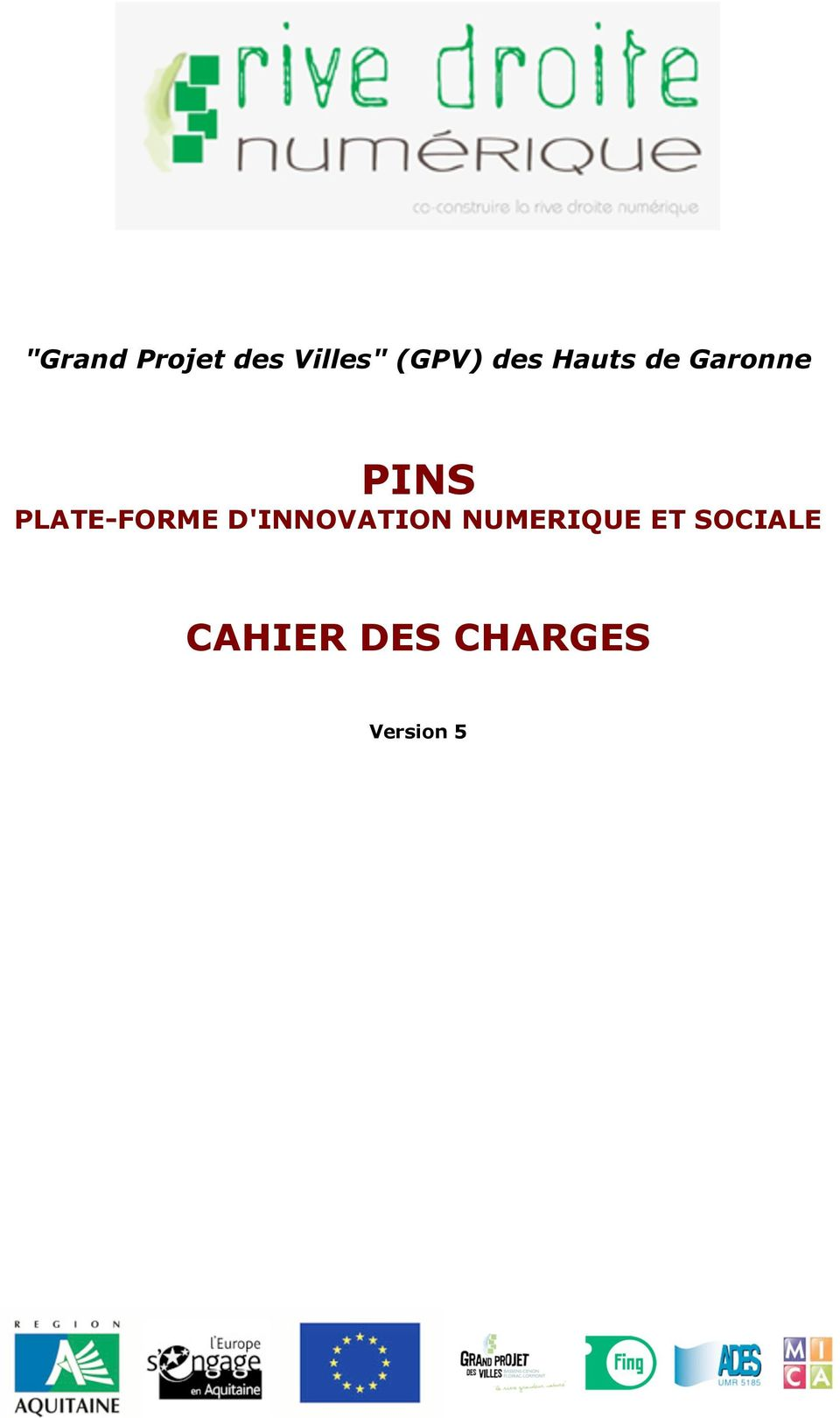 PLATE-FORME D'INNOVATION