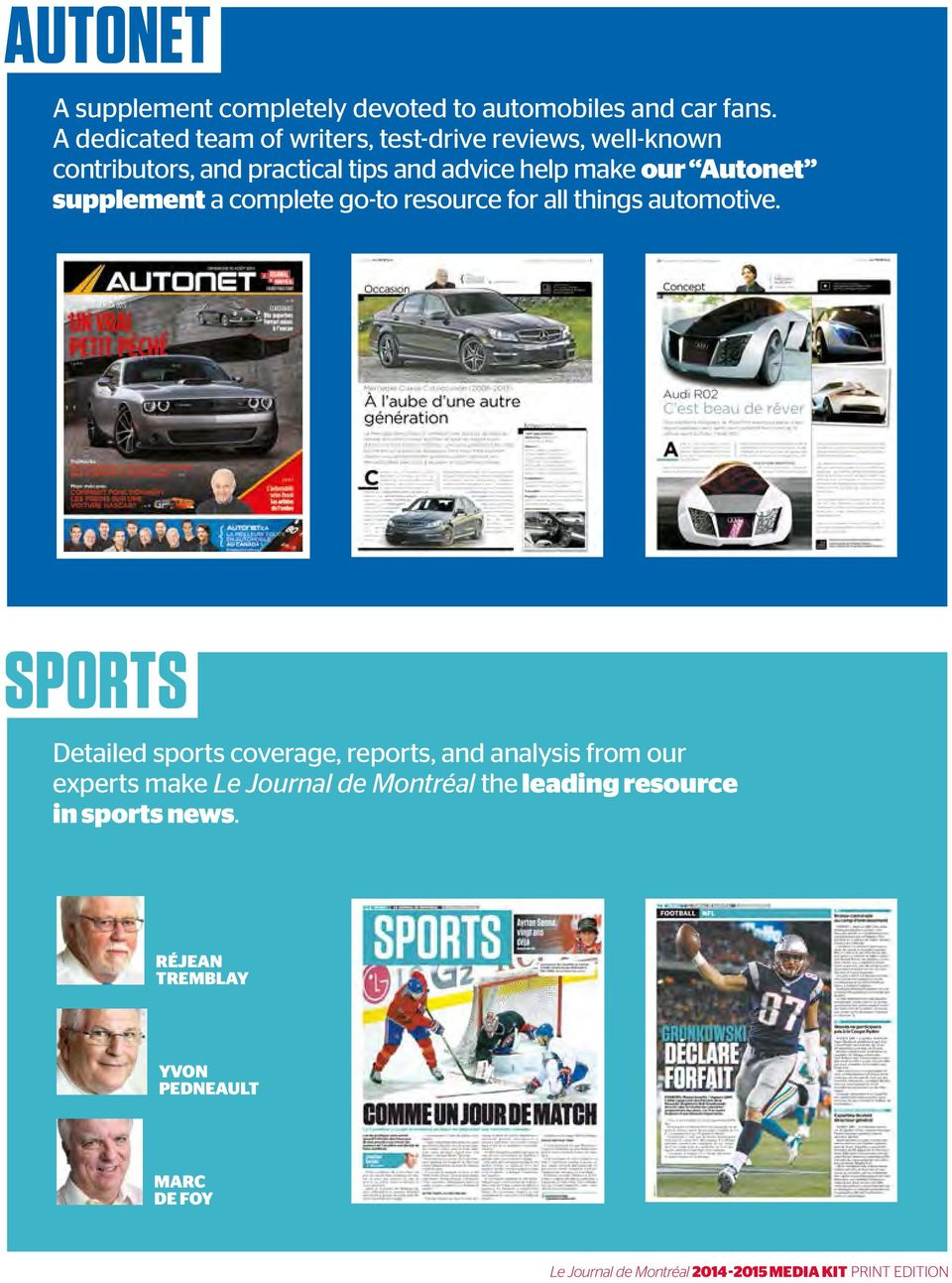 make our Autonet supplement a complete go-to resource for all things automotive.
