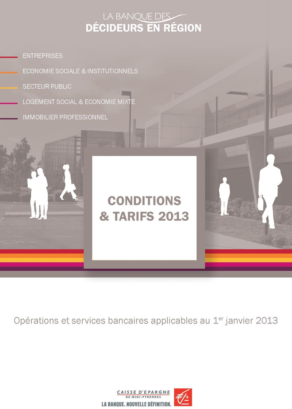 mixte immobilier professionnel Conditions & tarifs 2013