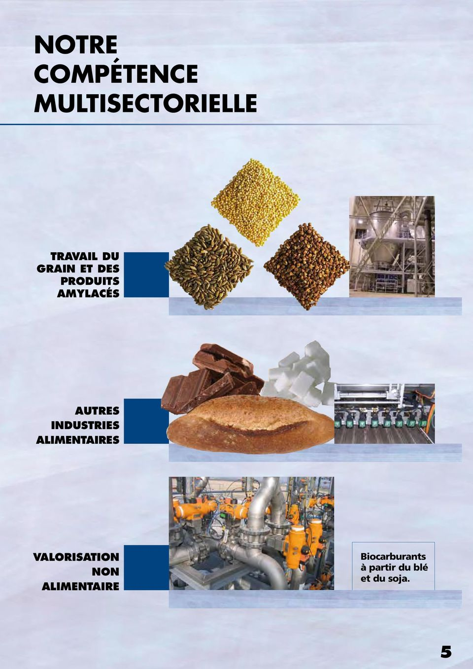 industries alimentaires valorisation non