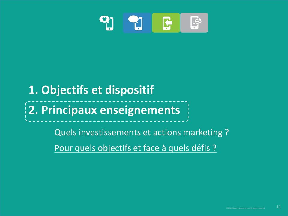 et actions marketing?
