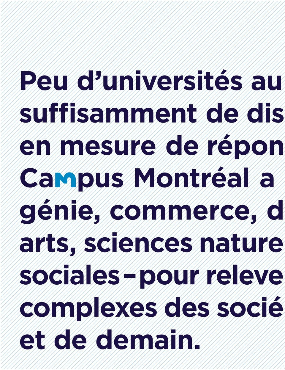 commerce, d arts, sciences naturel sociales