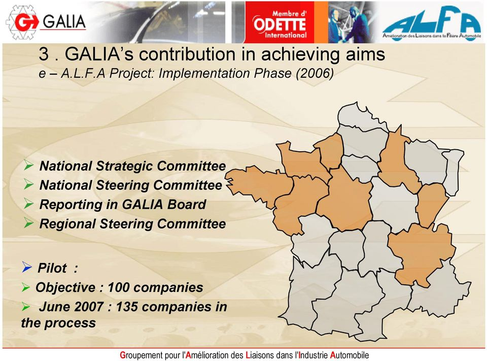 Committee National Steering Committee Reporting in GALIA