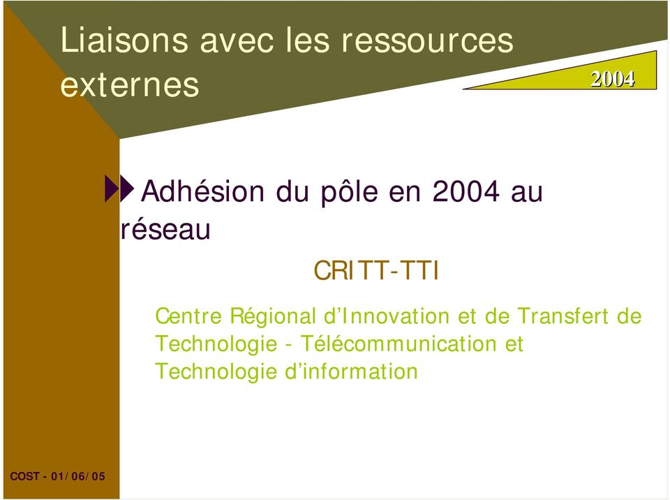d Innovation et de Transfert de Technologie -