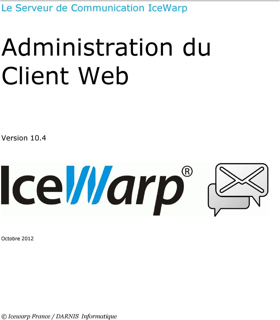 Client Web Version 10.