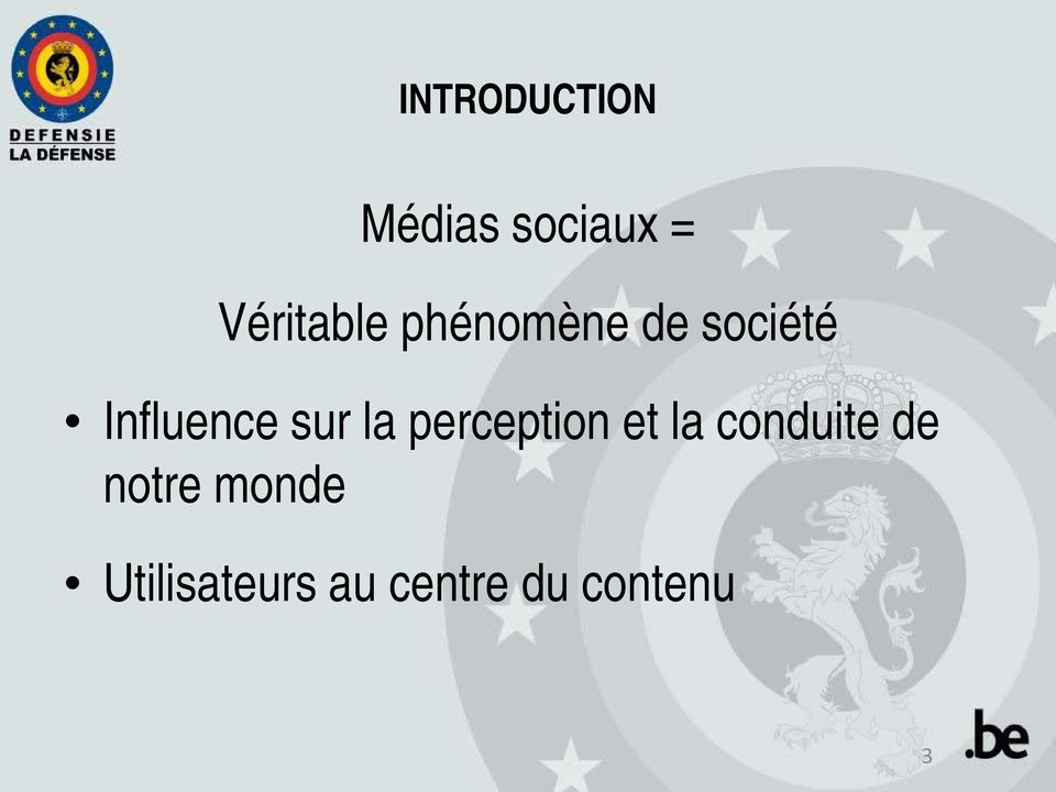Influence sur la perception et la