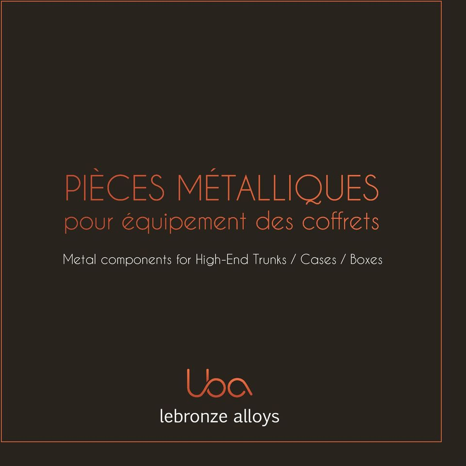 Metal components for