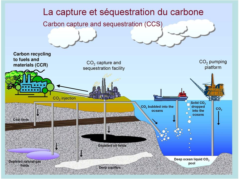 sequestration (CCS) Carbon