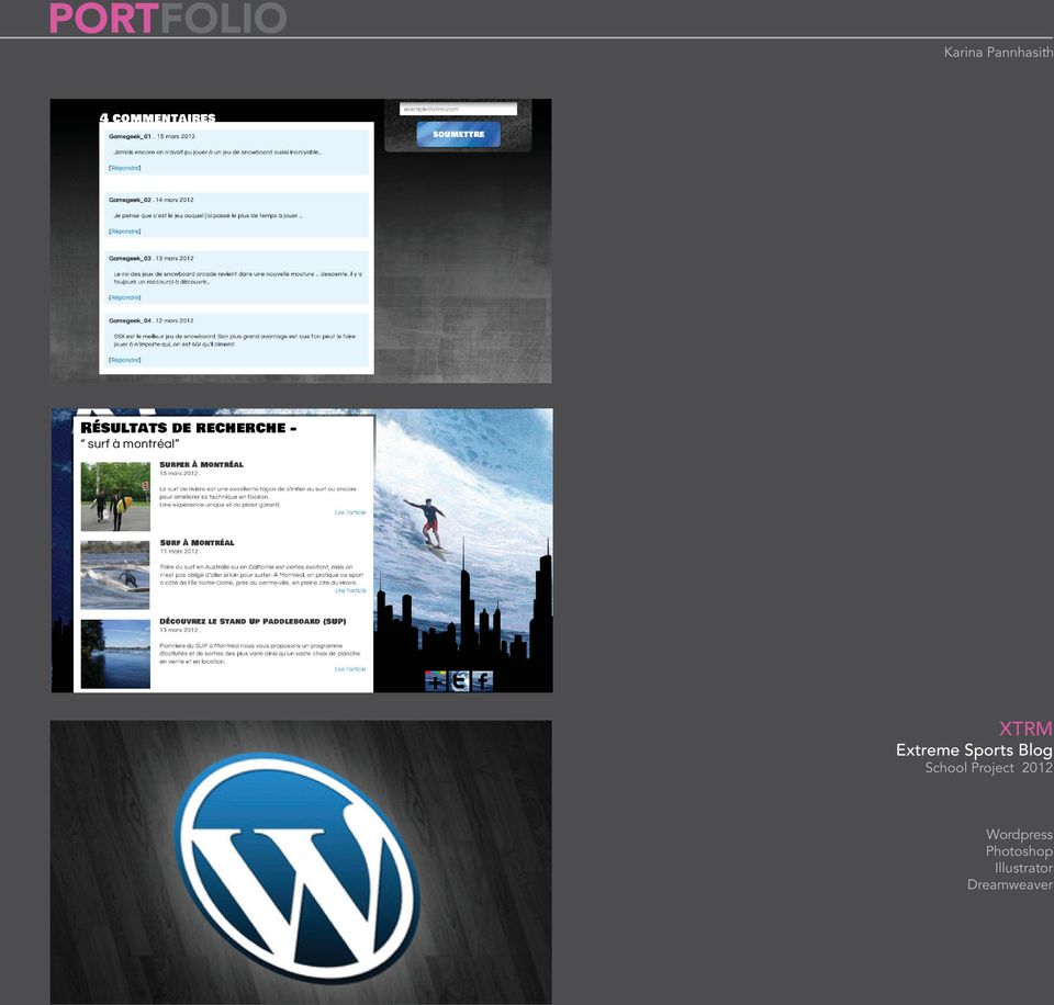Project 2012 Wordpress