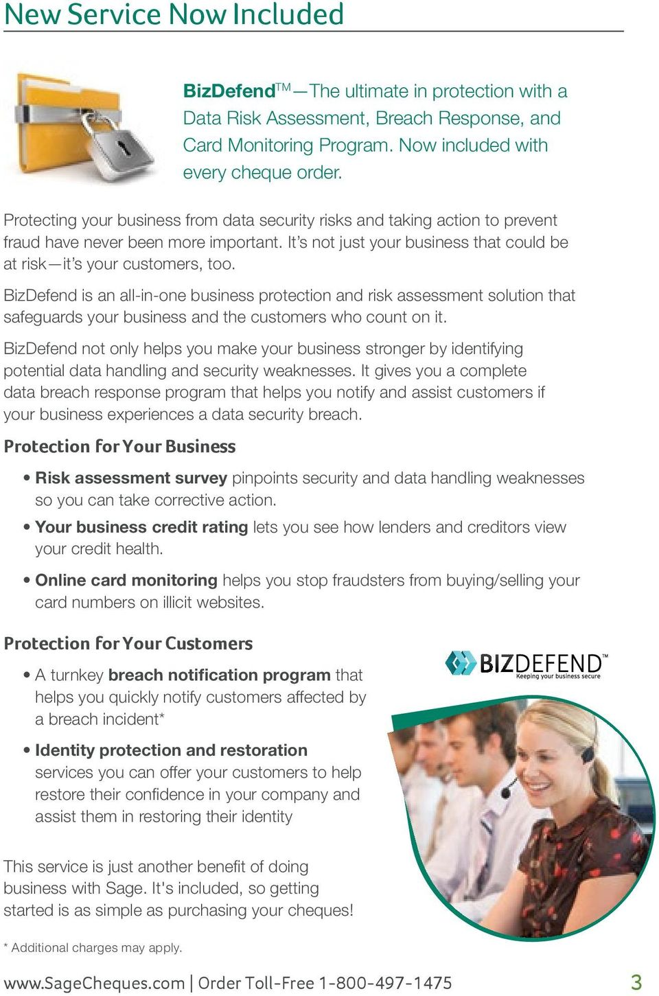 BizDefend is an all-in-one business protection and risk assessment solution that safeguards your business and the customers who count on it.