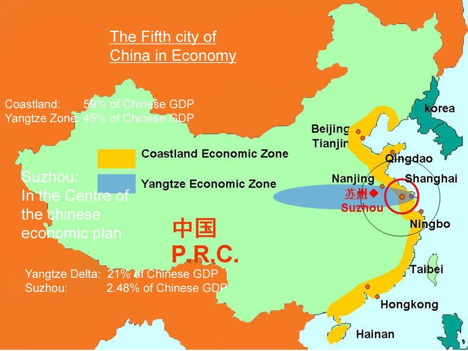 In the Centre of the chinese economic plan Yangtze
