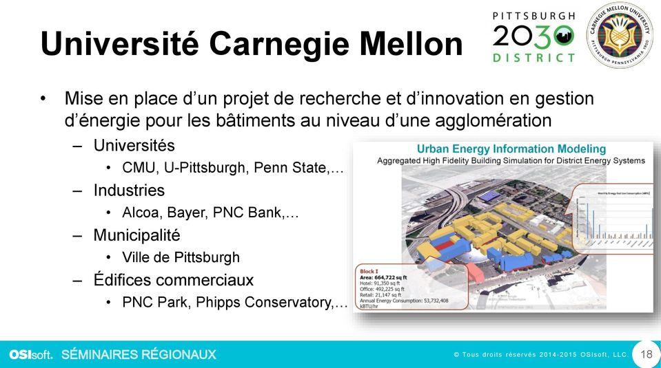 agglomération Universités CMU, U-Pittsburgh, Penn State, Industries Alcoa,
