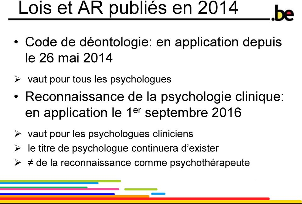 en application le 1 er septembre 2016 vaut pour les psychologues cliniciens le