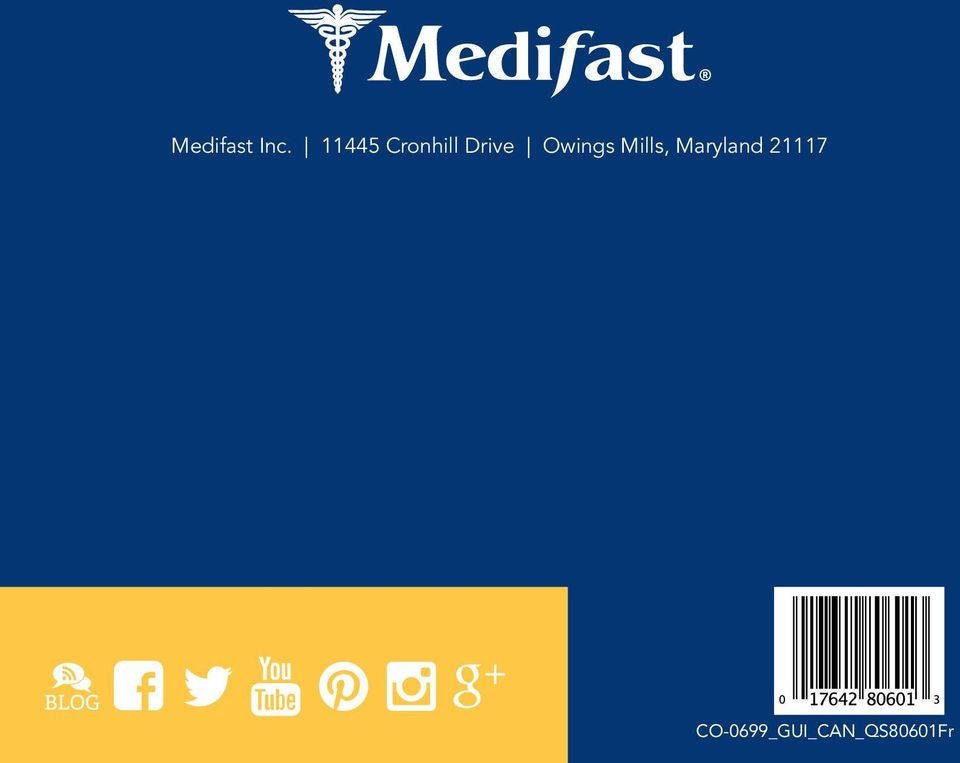 Maryland 21117 Medifast Quick Start