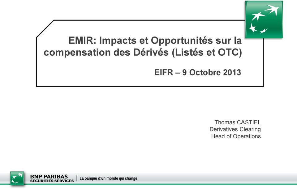 OTC) EIFR 9 Octobre 2013 Thomas