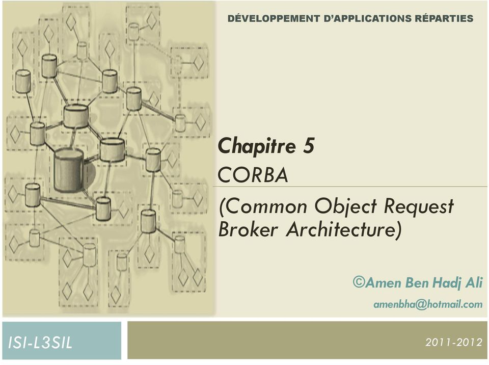 Request Broker Architecture) Amen