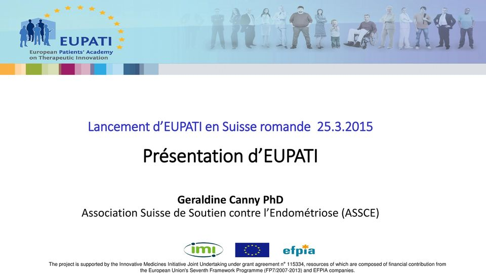 Union's Seventh Framework Programme (FP7/2007-2013) and EFPIA companies.