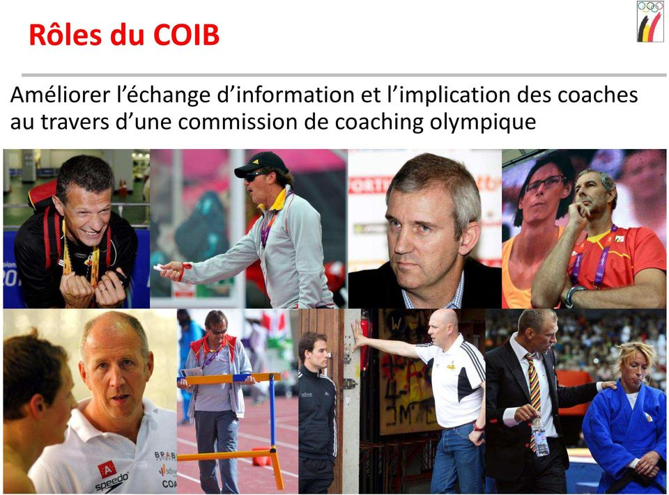 implication des coaches au